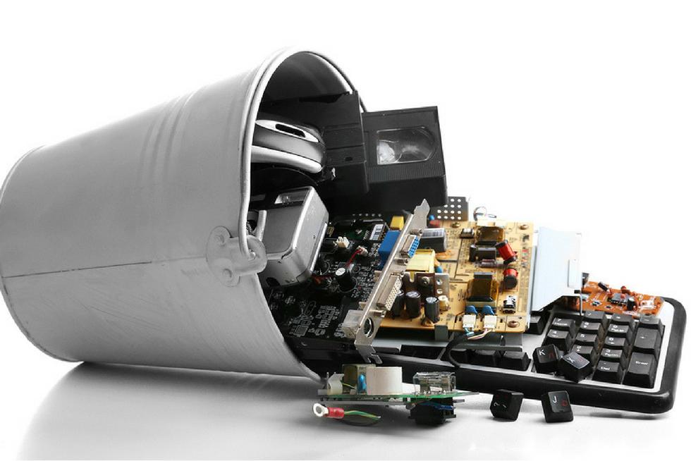 reciclaje de electrónicos y artículos computacionales